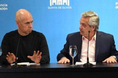 """""""Rodríguez Larreta debería estar agradecido de que no le pidamos lo que recibió y no le correspondía"""", sostuvo Alberto Fernández"""