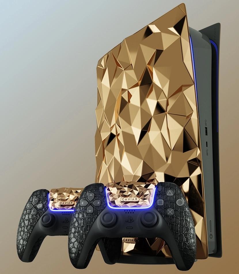 Caviar anuncia una Play5 con 20 Kg de oro