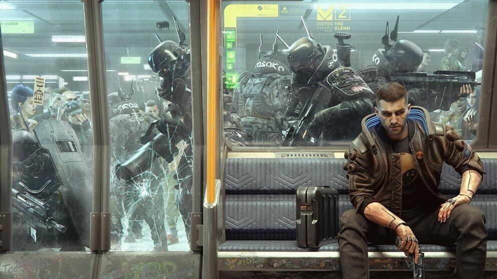 Cyberpunk 2077 fuera de la PS Store