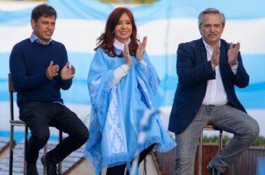 Kicillof recibe esta tarde a Alberto Fernández y Cristina Fernández de Kirchner en La Plata
