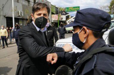 """Kicillof criticó a Juntos por el Cambio y dijo que lo único que hicieron fue """"vender humo"""" en materia de Seguridad"""
