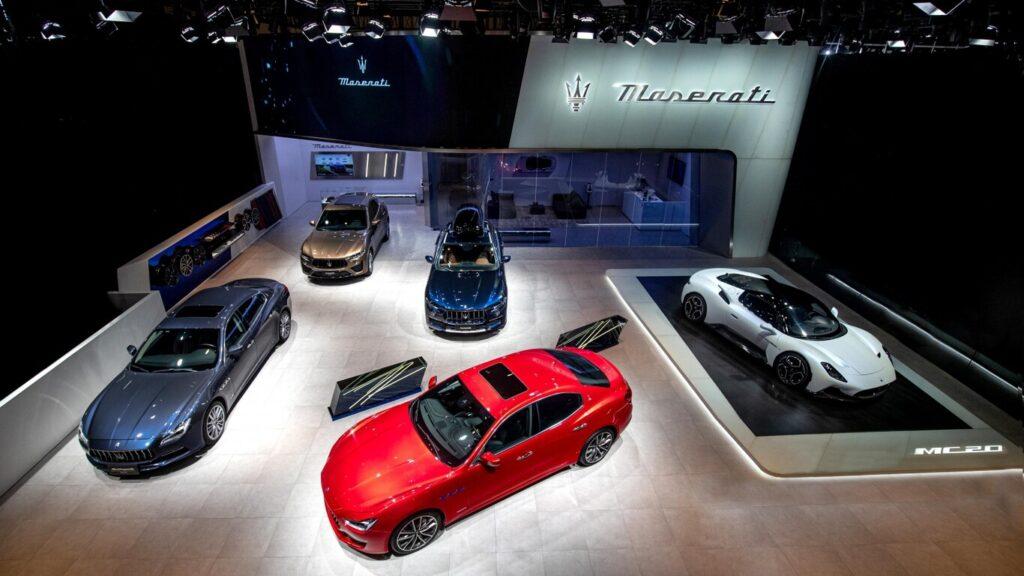 Maserati se convertirá en una firma totalmente electrificada en 2025