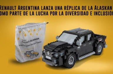 Renault Argentina lanza una réplica de la Alaskan como parte de la lucha por la diversidad e inclusión