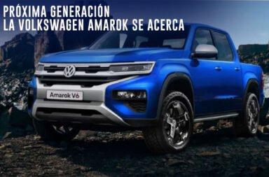 La próxima generación de la Volkswagen Amarok se acerca ¿Será parecida a la Ranger?