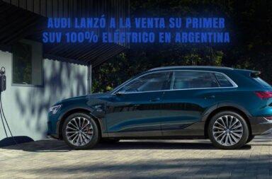 Audi lanzó a la venta su primer SUV 100% eléctrico en Argentina