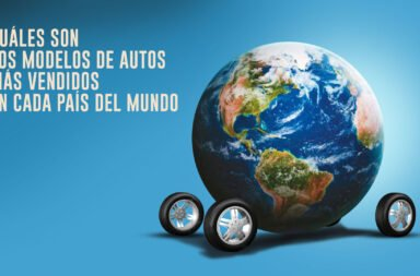 ¿Cuáles son los modelos de autos más vendidos en cada país del mundo?