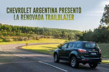Chevrolet Argentina presentó la renovada Trailblazer