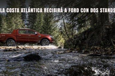 La Costa Atlántica recibirá a Ford con dos stands, uno en Cariló y otro en Pinamar