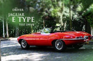 New Driver y la sensación de manejar un Jaguar E-Type a 60 años de su creación