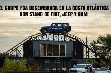 El grupo FCA desembarca en la Costa Atlántica con stand de Fiat, Jeep y Ram