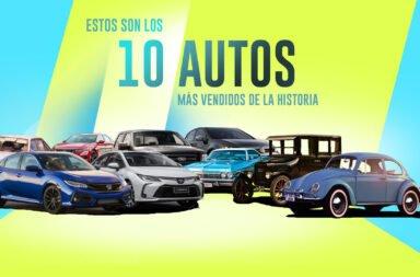 Estos son los 10 autos más vendidos de la historia