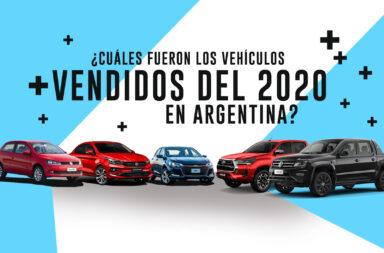 ¿Cuáles fueron los vehículos más vendidos del 2020 en Argentina?