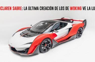 McLaren Sabre: La última creación de los de Woking ve la luz