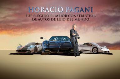 Horacio Pagani fue elegido el mejor constructor de autos de lujo del mundo