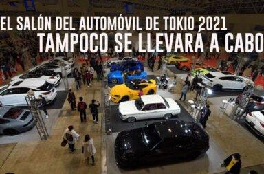 El Salón del Automóvil de Tokio 2021 tampoco se llevará a cabo