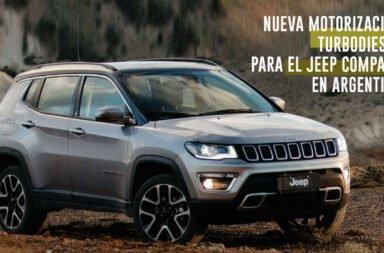 Nueva motorización turbodiesel para el Jeep Compass en Argentina