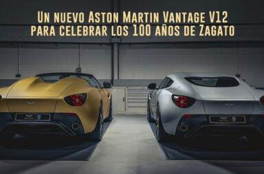 Un nuevo Aston Martin Vantage V12 para celebrar los 100 años de Zagato