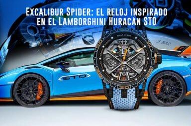 Excalibur Spider: el reloj inspirado en el Lamborghini Huracán STO