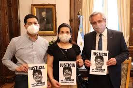 Alberto Fernández se reunió con los papás de Fernando Báez Sosa, el joven asesinado por un grupo de rugbiers en Villa Gesell