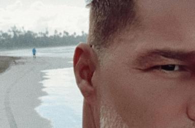 Ricky Martin y un drástico cambio de look