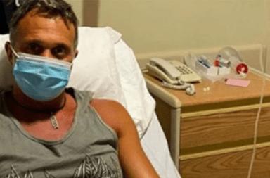 Aclaran que Sergio Lapegüe no fue intubado en ningún momento