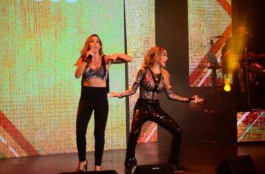 Soledad sorprendió a Fátima Flórez y cantaron juntas