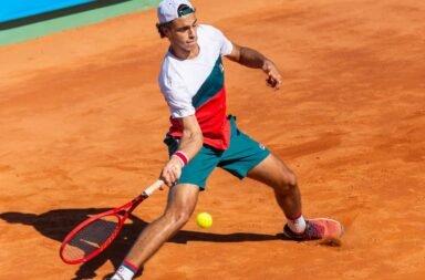 Francisco Cerúndolo dio positivo de Covid-19 y quedó afuera de la qualy del Australian Open