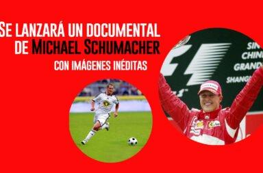 Se lanzará un documental de Michael Schumacher con imágenes inéditas