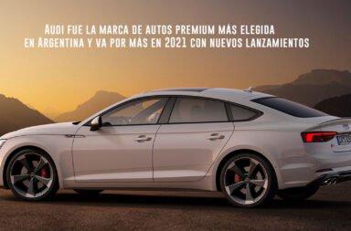 Audi fue la marca de autos premium más elegida en Argentina y va por más en 2021 con nuevos lanzamientos