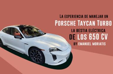 A bordo del Porsche Taycan Turbo: Un eléctrico con 650 caballos de fuerza