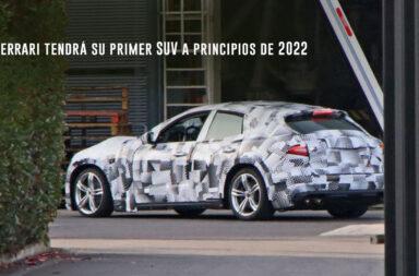 Ferrari tendrá su primer SUV a principios de 2022 ¿Cómo será?