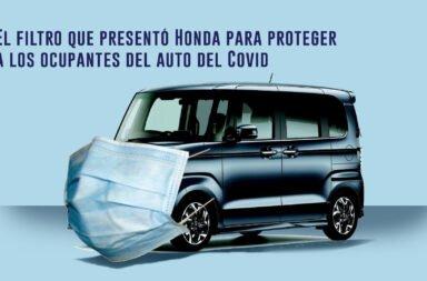 El filtro que presentó Honda para proteger a los ocupantes del auto del Covid-19