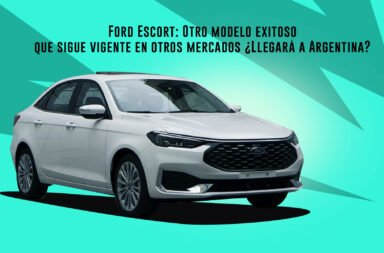 Ford Escort: Otro modelo exitoso que sigue vigente en otros mercados ¿Llegará a Argentina?