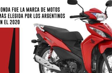 Honda fue la marca de motos más elegida por los argentinos en el 2020