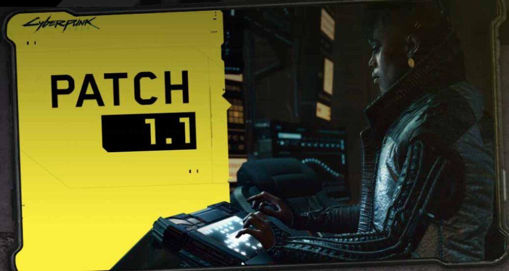 Cyberpunk 2077 recibe su primer gran actualización
