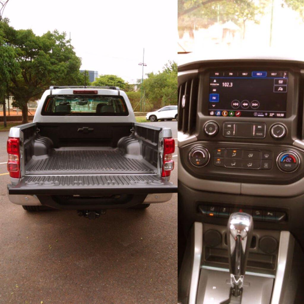 A bordo de la Chevrolet S10: Un salto de calidad en equipamiento y confort de marcha