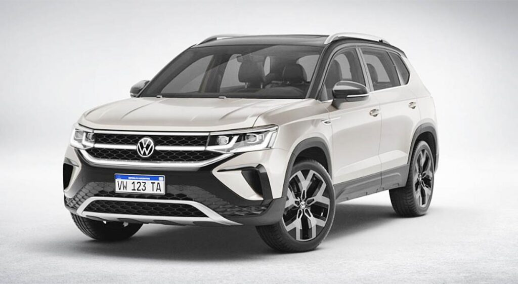 Volkswagen presentó las características técnicas del flamante Taos