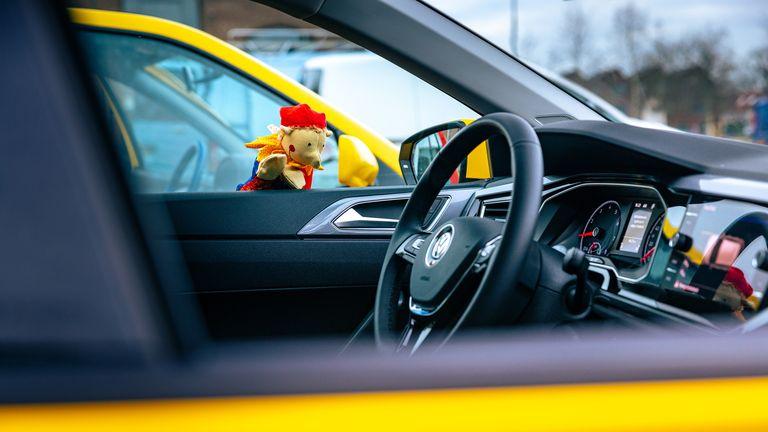 Polo Arlequín: El Volkswagen más colorido que hace recordar al Gol Top de los 90