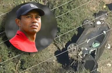 Se accidentó Tiger Woods