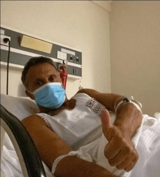 Sergio Lapegüe sigue con oxígeno y con fiebre espaciada