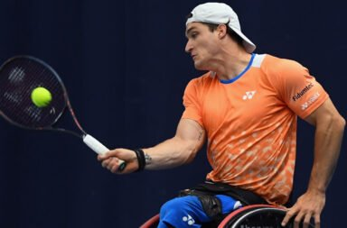 Gustavo Fernández fue eliminado en su estreno en el Australian Open