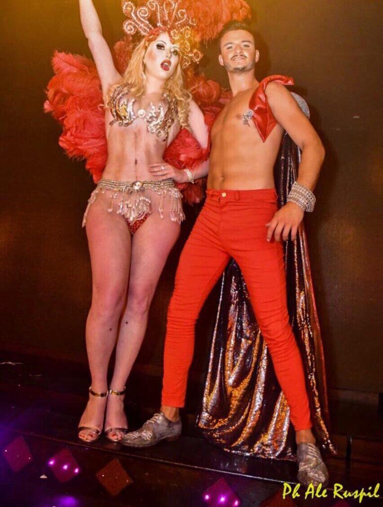 Isabella Jones, la vedette trans que triunfa en Mar del Plata