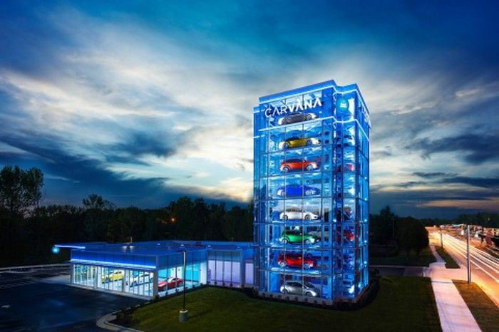 Así es la máquina expendedora de autos que almacena 39 opciones distintas