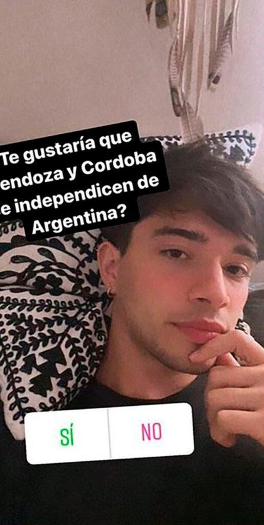 Julián Serrano quiere que Córdoba y Mendoza se independicen de la Argentina