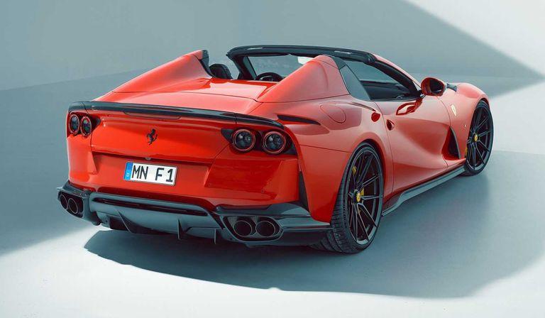Ferrari 812 GTS: V12 y más de 800 caballos para disfrutar al aire libre