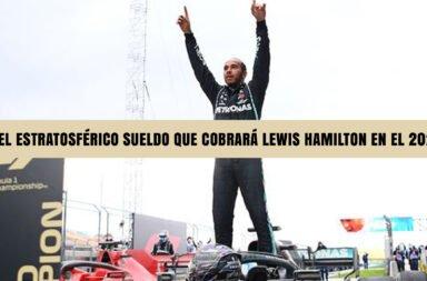 El estratosférico sueldo que cobrará Lewis Hamilton en el 2021