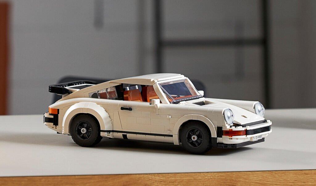 Lo último de Lego: 1500 piezas para poder armar un Porsche 911 Turbo o Targa clásicos