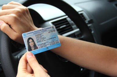 registro de conducir