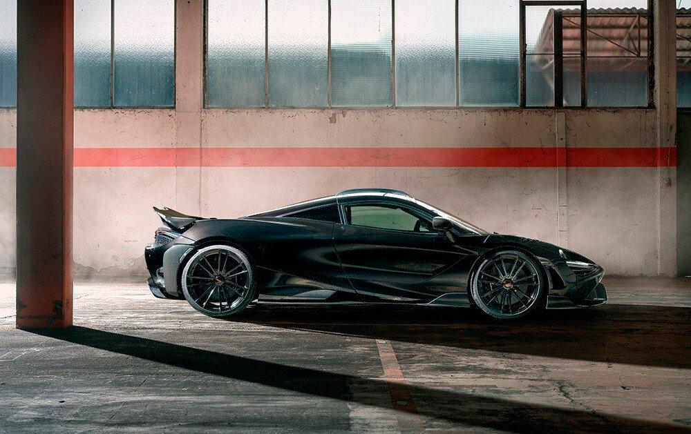 La bestia más impactante de McLaren tiene 855 CV y es de Novitec