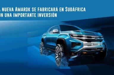 La nueva Amarok se fabricará en Sudáfrica con una importante inversión ¿Qué pasa en Argentina?
